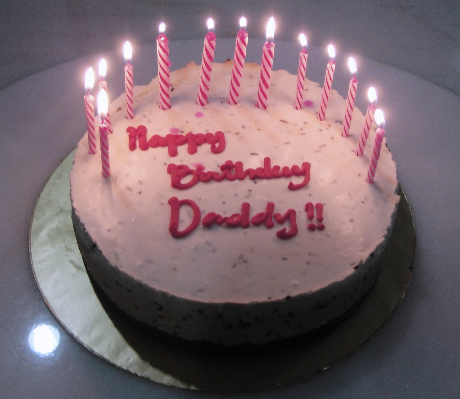 Birthday Cake For Daddy With Name