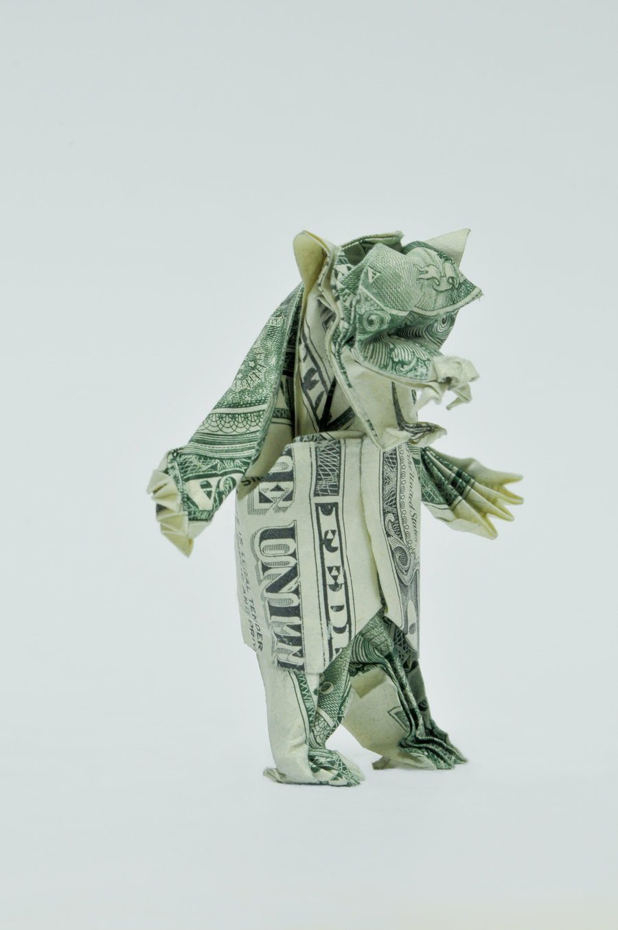 Tattoo and way of life: Money as Art: Dollar Origami by ... - photo#11