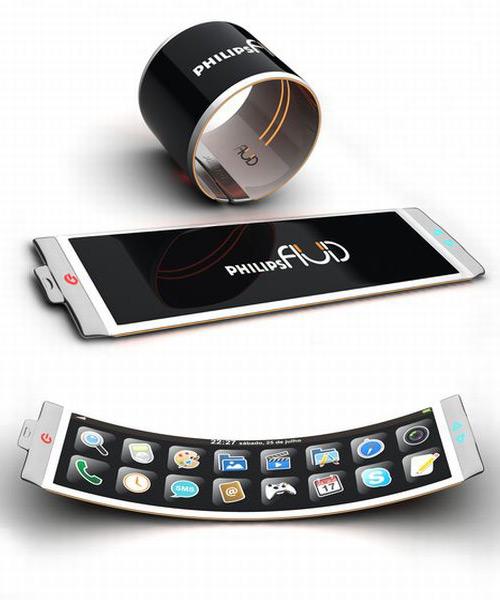 fluid flexible concept - Conceito: 10 Smartphones para um futuro próximo