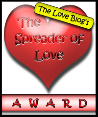 "I got this award from ""The Love Blog"" -Thank you Barbara!"