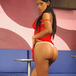 Andrea Rincon, Selena Spice Galeria 1 : Traje Oriental Rojo Foto 180