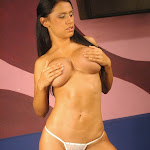 Andrea Rincon, Selena Spice Galeria 1 : Traje Oriental Rojo Foto 198