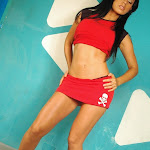 Andrea Rincon, Selena Spice Galeria 2 : Minifalda Roja y Tanga Blanca Foto 18