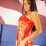 Andrea Rincon, Selena Spice Galeria 1 : Traje Oriental Rojo Foto 22