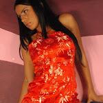 Andrea Rincon, Selena Spice Galeria 1 : Traje Oriental Rojo Foto 48