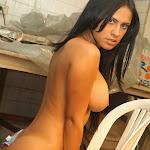 Andrea Rincon, Selena Spice Galeria 4 : Pantalon Azul y Top Transparente Foto 147
