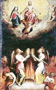 Resultado de imagen para Jesús baja a los Infiernos y al Purgatorio: