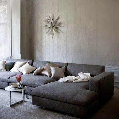 Belle maison idea gallery wall decor above the sofa - Living room artwork ideas ...
