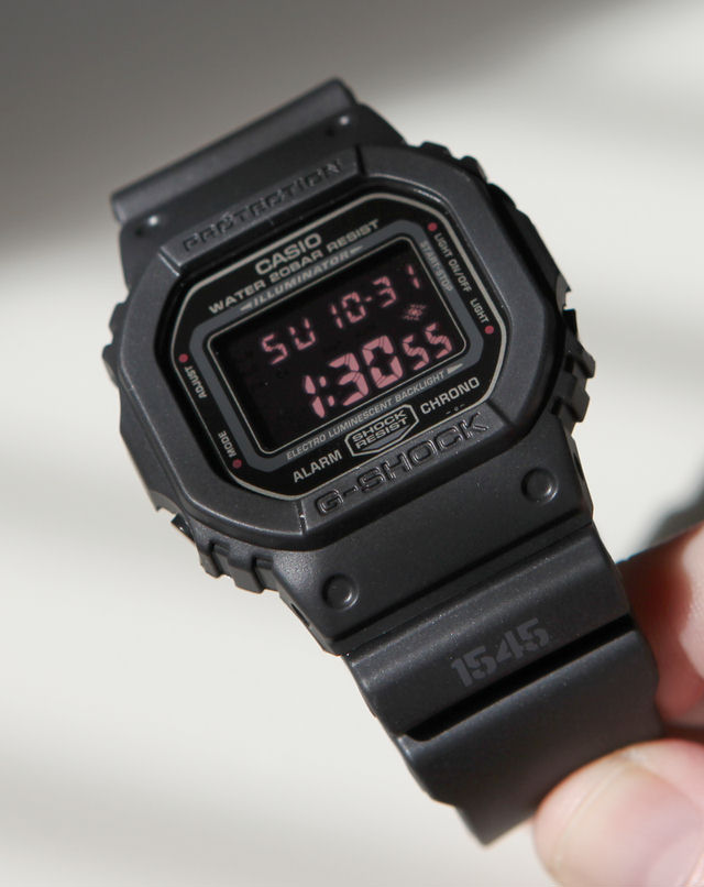 712758487aef The Century  Casio G-Shock  Military Inspired DW-5600MS-1