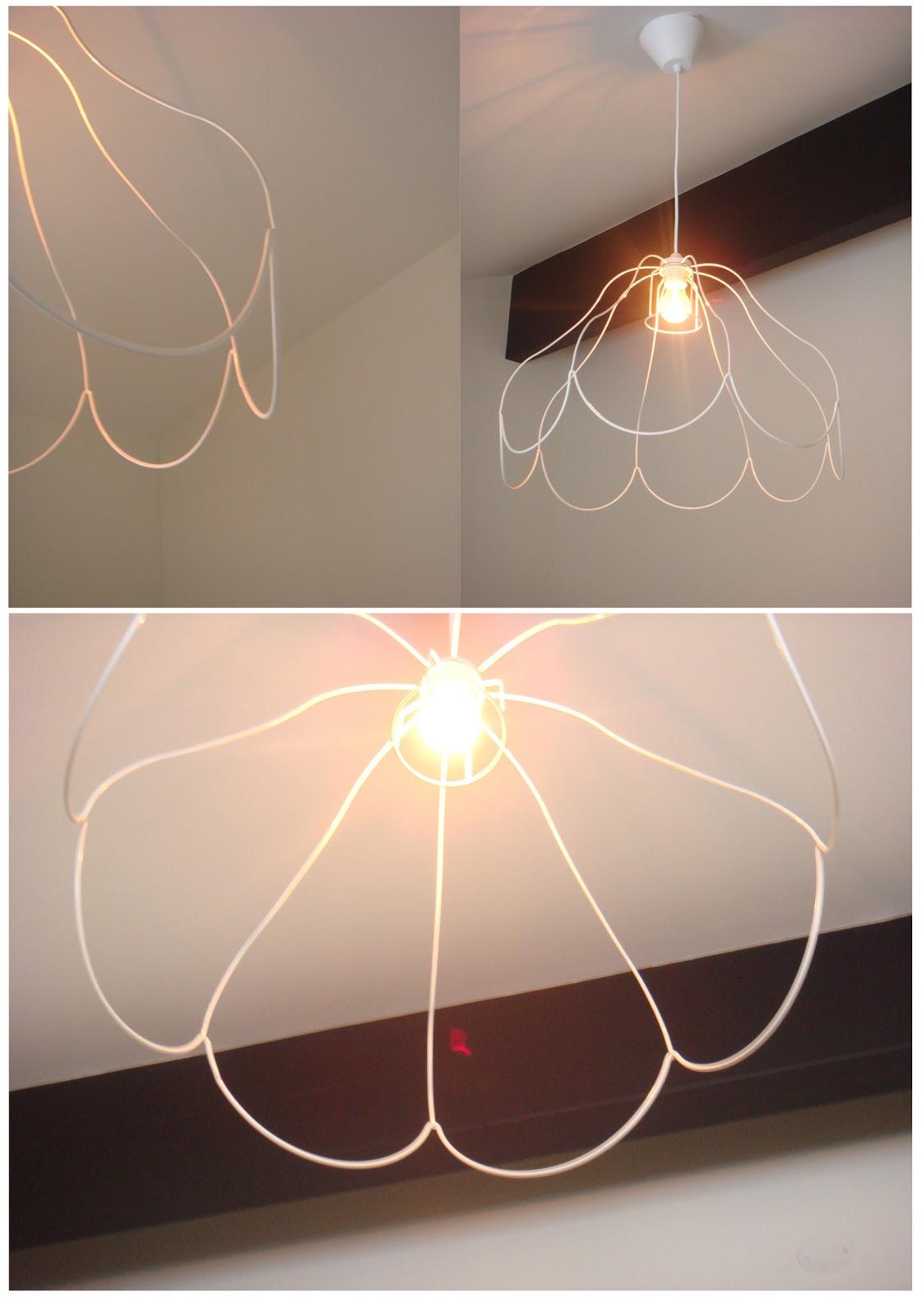 Enkel billig lampa att göra själv u2013 DIY Mormorsglamour