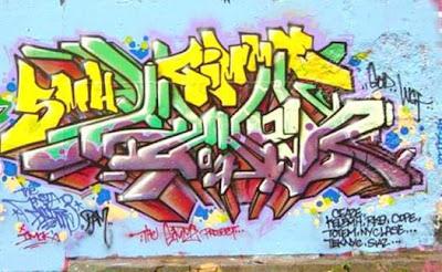 Graffiti Alphabet 3d Font