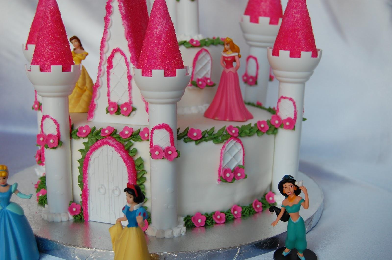 Customised Cakes By Jen Princess Castle Cake