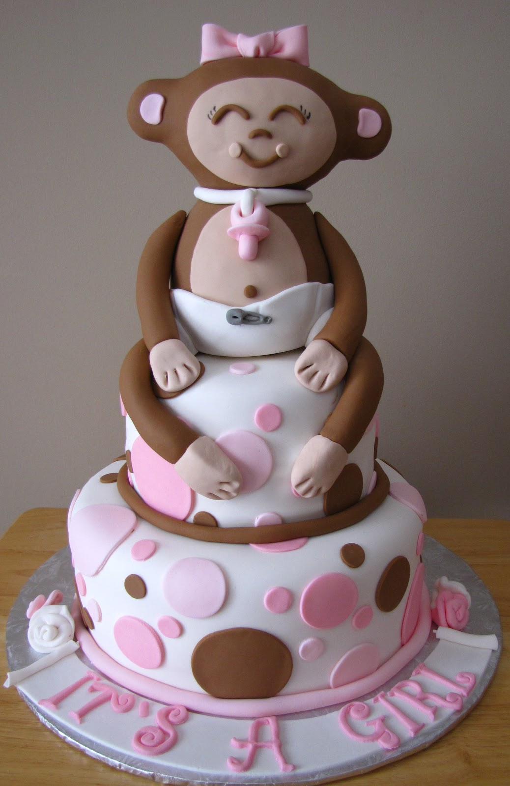 Ann Marie's Creative Cakes: Monkey Cake And Cookies