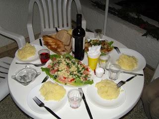 Ужин в апартаментах Dona Rosa