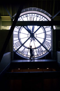 clock at Orsay in Paris