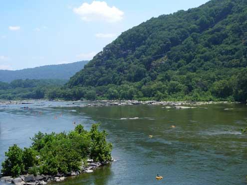 potomac and shenandoah rivers meet