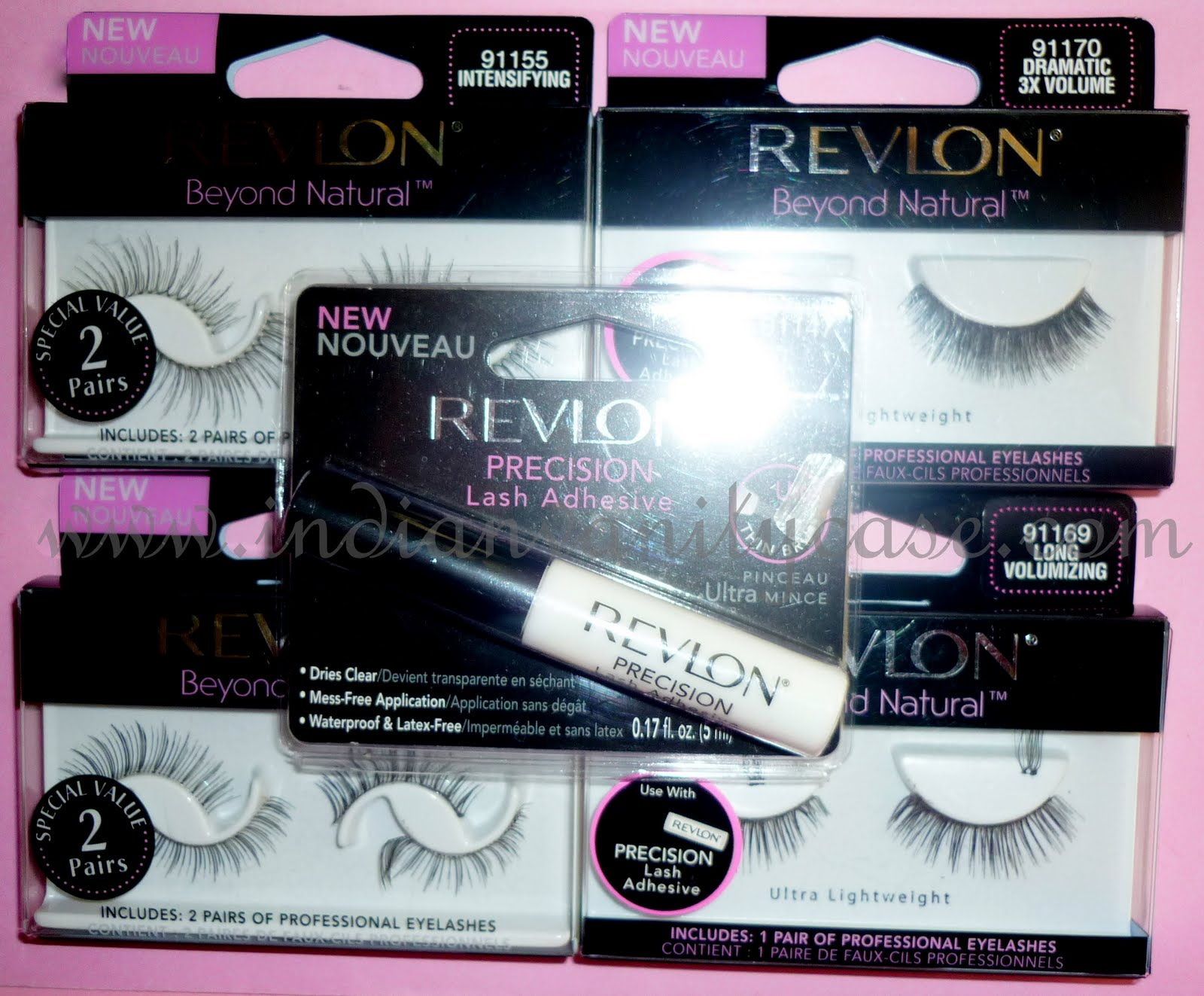a5204e9ec45 Revlon Beyond Natural False Eyelashes are professional eyelashes that are  ultra lightweight, come with a Precision Lash Adhesive, and are re-usable  with ...