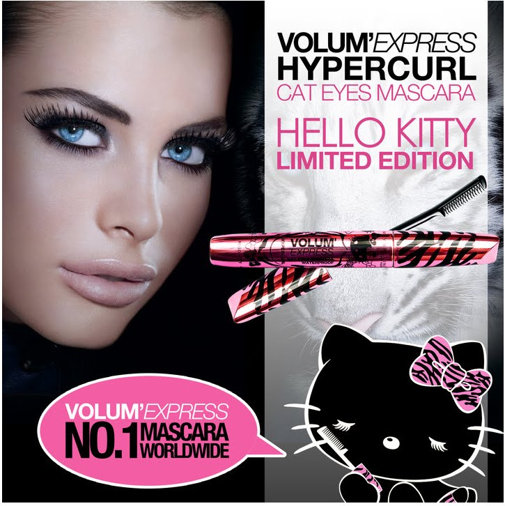 aa49f5866 Indian Vanity Case: Maybelline Hello Kitty Volume Express Cat Eyes ...