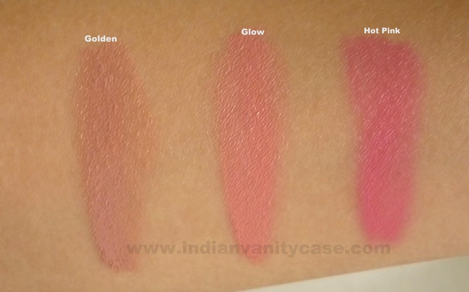 Indian Vanity Case Nyx Rouge Cream Blushes Photos Swatches