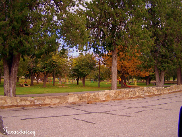 View of City Park in Seymour Texas