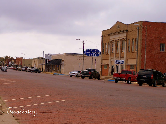 City Hall of Downtown Seymour Texas