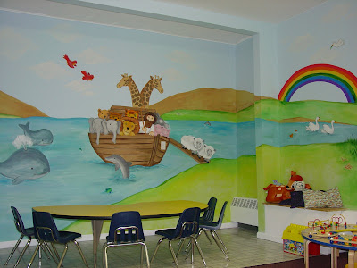 Church Nursery Mural Ideas
