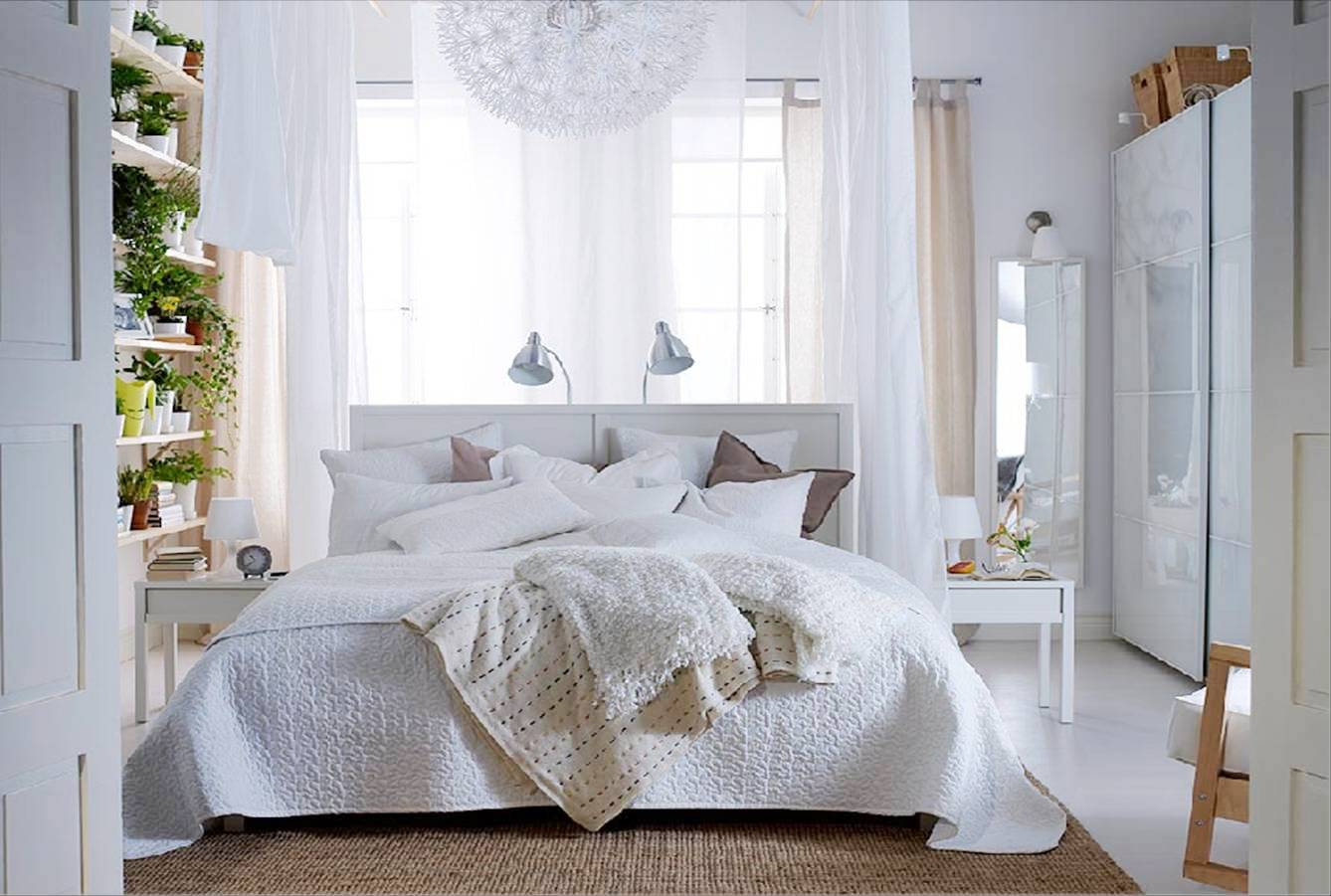 Bedroom Inspiration Ikea Collected Dandelion Lamp