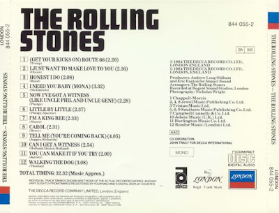 Image result for THE ROLLing stones 1964 ALBUM