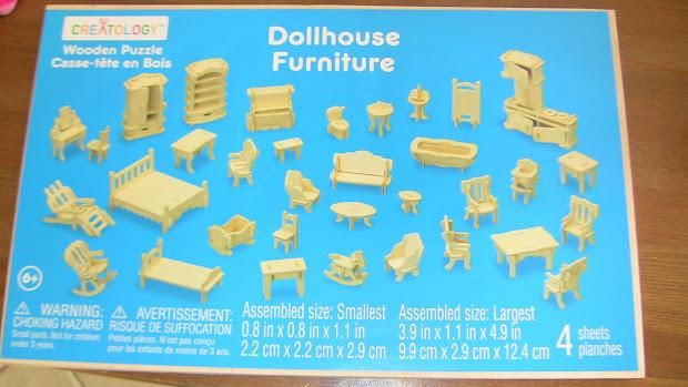 Dollhouse Furniture Occasionally Crafty