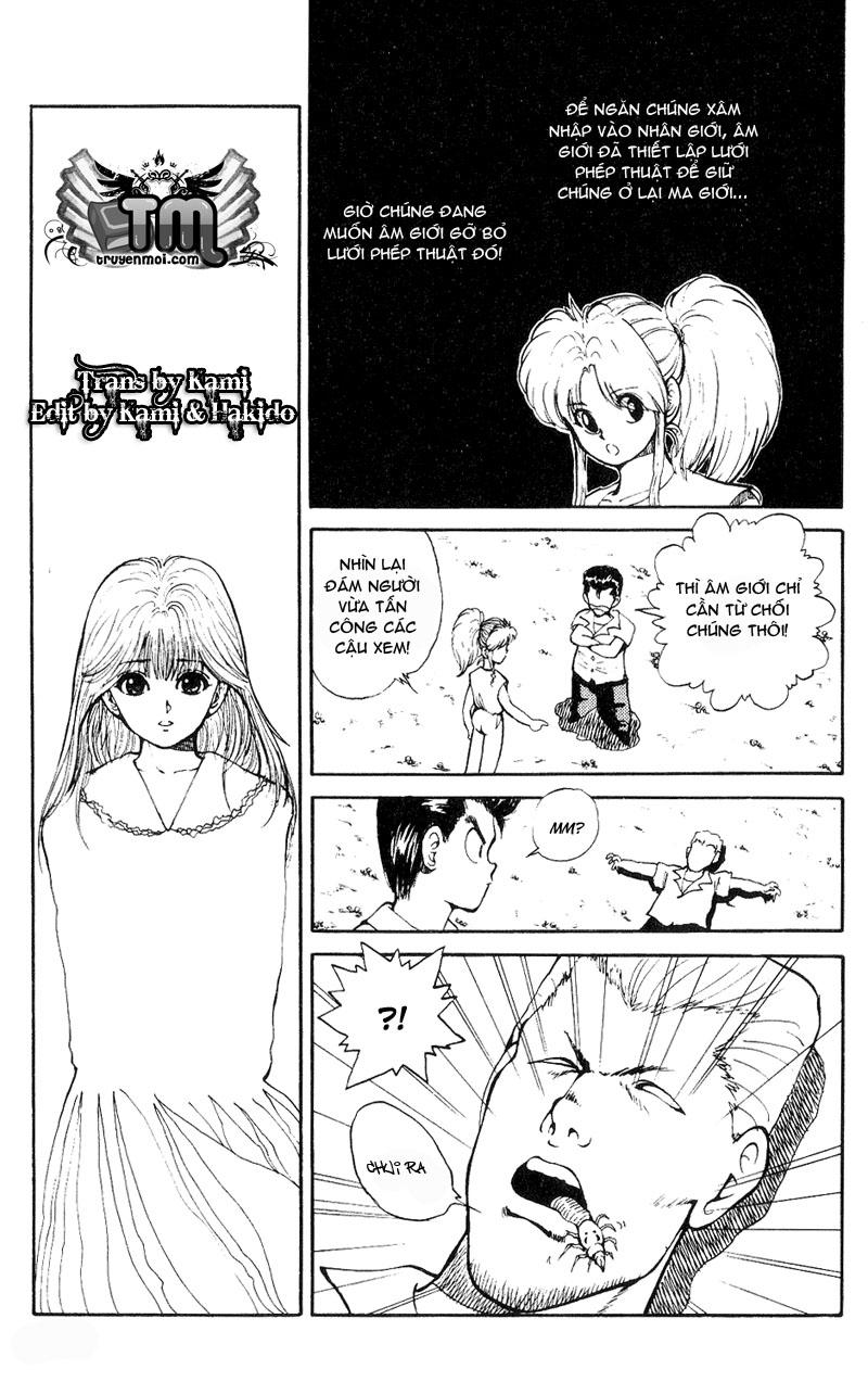 Hành trình của Uduchi chap 033: thử thách từ lâu đài quỷ trang 14