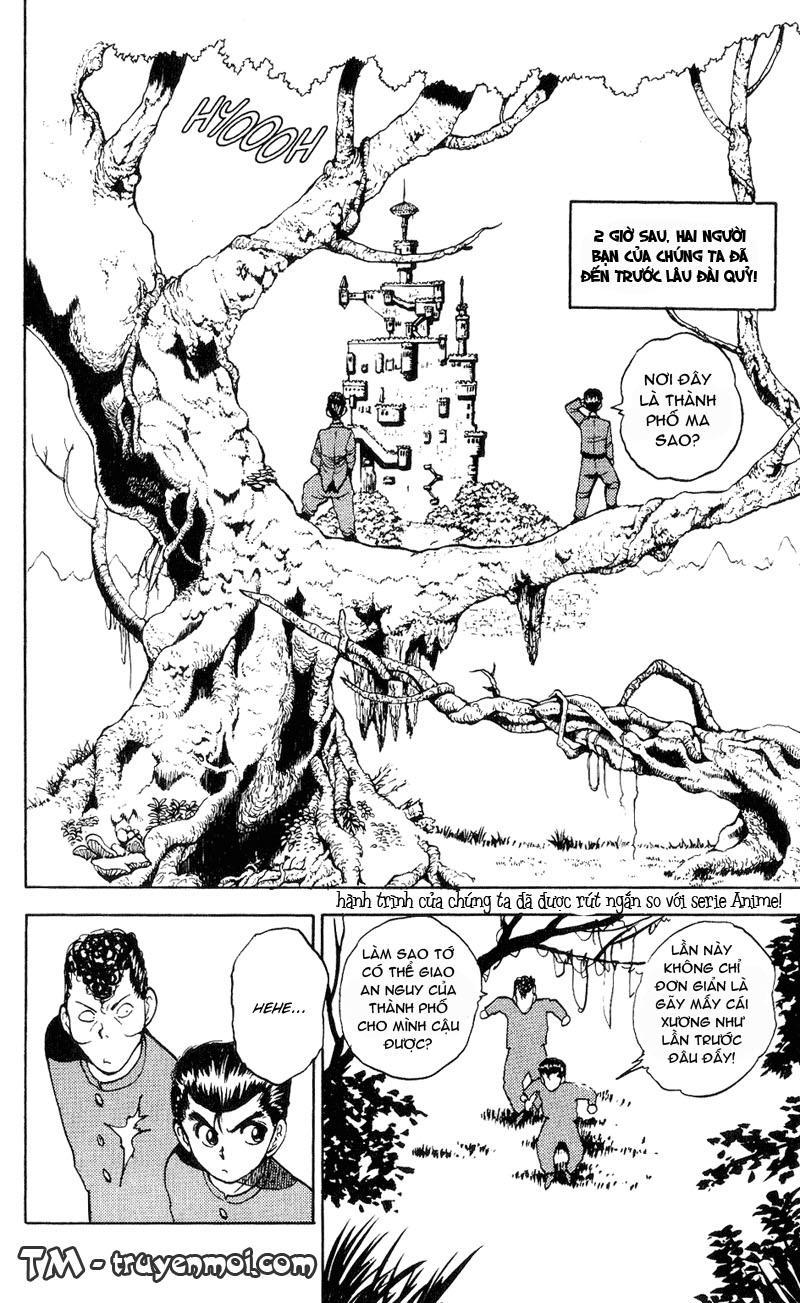 Hành trình của Uduchi chap 033: thử thách từ lâu đài quỷ trang 17