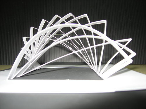 Teach you how to make a paper bridge by Madaradepapel   375x500