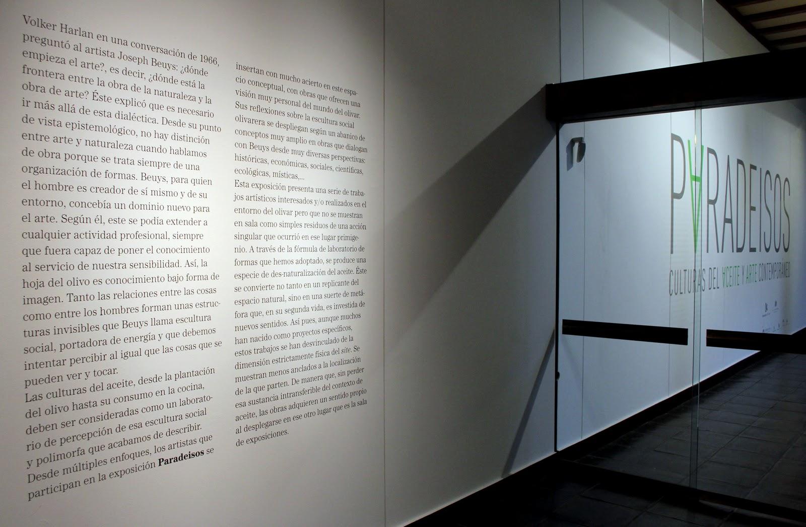Rural Contemporanea Paradeisos Oil Cultures And Contemporary Art