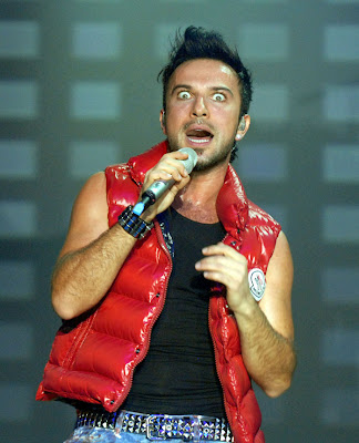 Tarkan live at the Palladium in Cologne, Germany, December 2008