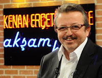 Kenan Erçetingöz's magazine show Akşam Keyfi on Turkish channel Kanal 1