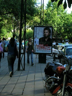 Billboard for Tarkan's 1 July concert
