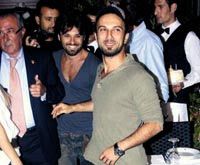 Tarkan and Emir