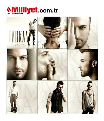 Milliyet publishes first glimpses of sleeve art from Tarkan's 2010 album