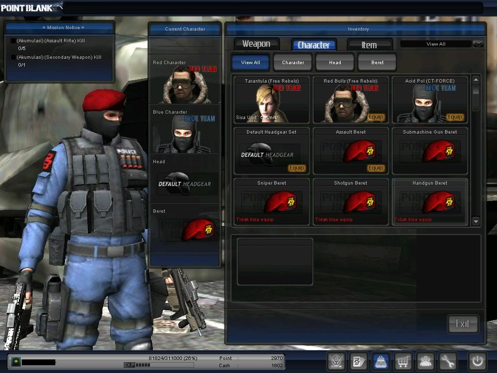 Com Cara Bermain Game Point Blank Game Point Blank Indonesia point blank 1024x768