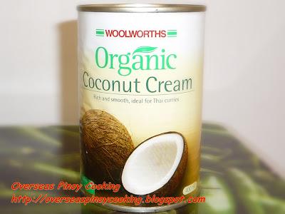 Ginataang Pugita, Baby Octopus in Coconut milk - Canned Coconut Milk
