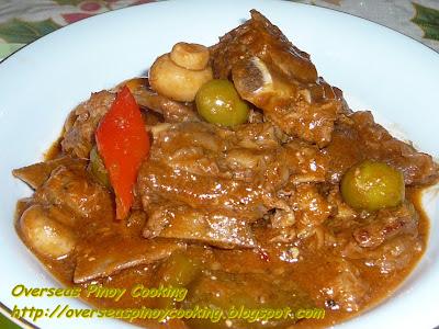 Special Beef Kaldereta