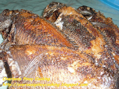 Fish Sisig, Tilapia Sisig - Fried Tilapia