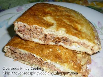 Corned Tuna Omelet