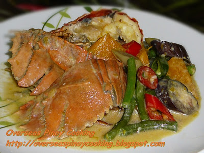 Ginataang Pitik, Slipper Lobsters