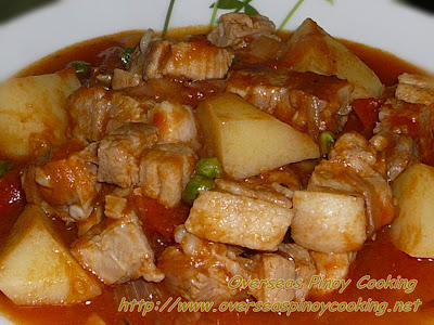 Pork Sarciado, Sarciadong Baboy, Kinamatisan Baboy