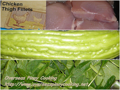 Tinolang Manok sa Ampalaya - Cooking Procedure