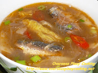 Sardinas at Sotanghon, Canned Sardine Soup with Sotanghon