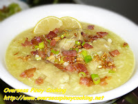 Chicken Arroz Caldo with Bacon