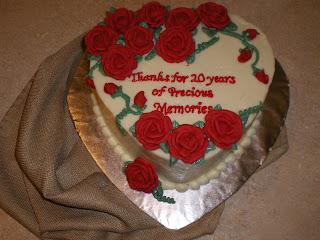 Skinny Cakery A Happy Anniversary Cake