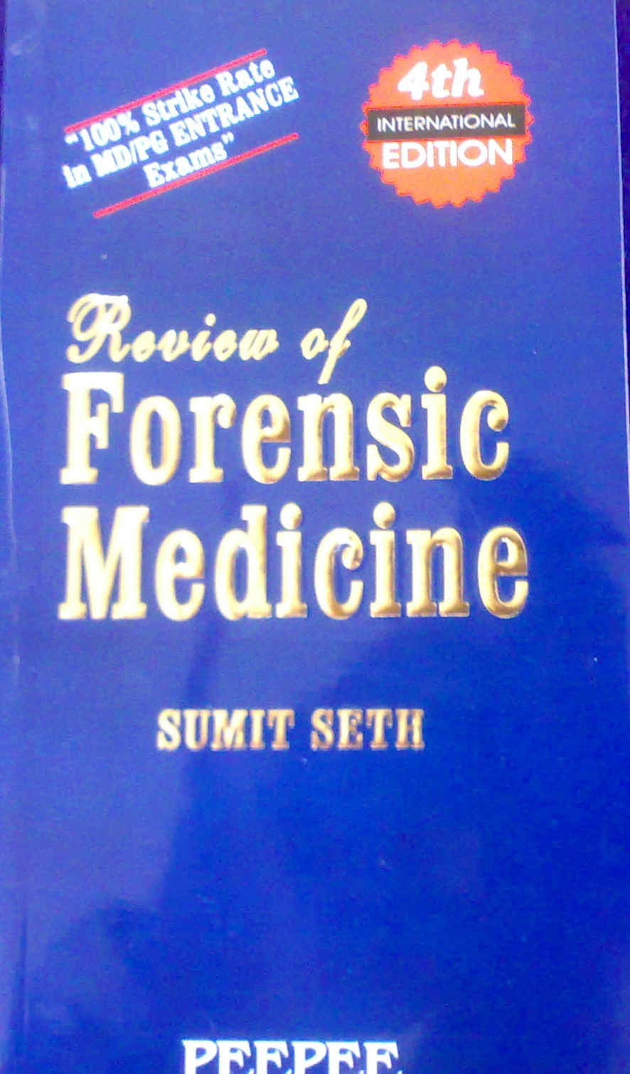 Review Of Forensic Medicine Sumit Seth Pdf